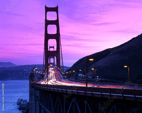Golden Gate Bridge, San Francisco, USA. - 64701188
