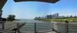 City at the waterfront, CN Tower, Lake Ontario, Toronto, Ontario