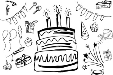 doodle Birthday Stuff