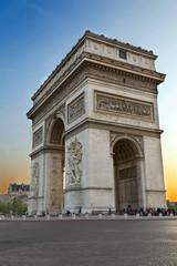 Arc de Triumph, in Paris