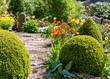 canvas print picture - Frühling im Garten