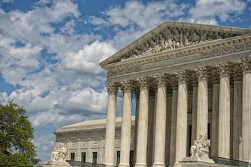 Washington DC Supreme Court facade