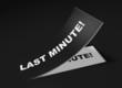 3D Etikett Schwarz - Last Minute!