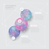 Fototapety creative circle infographics design
