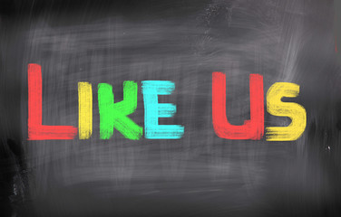 Like Us Concept
