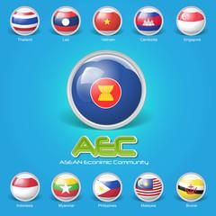 Asean Economic Community AEC concept 01