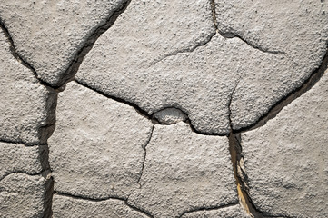 Cracked eartsh surface texture