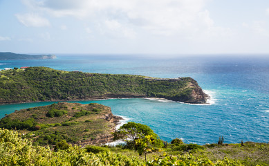 Points of Land in Antigua