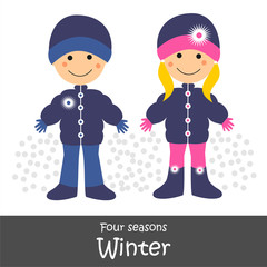 Fou Seasons_Winter Children