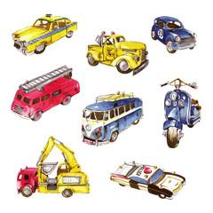 作業車, 車のイラスト