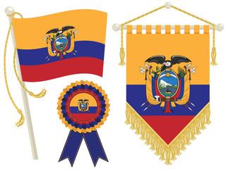 ecuador flags