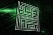 Composite image of maze