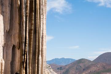 Hierve el Agua, Petrified Waterfall in Oaxaca (Mexico)