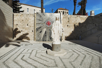 The statue of the Virgin Mary, Nazareth