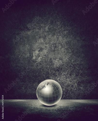 globe empty backdrop