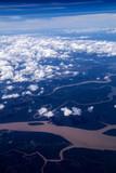 Niesamowity krajobraz z nieba