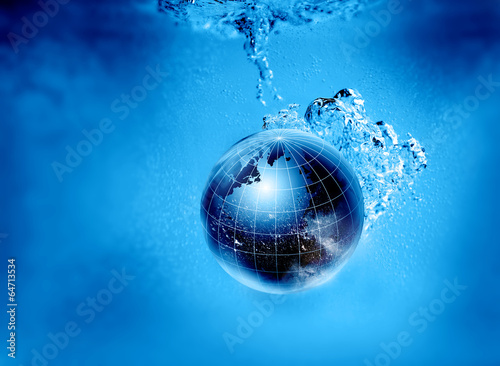 sinking planet