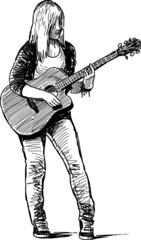 girl musician