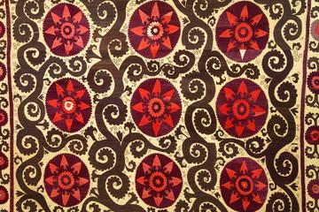 embroidered textile, Tashkent