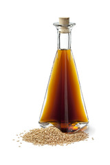 Sesame oil and roasted sesame seeds