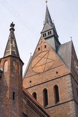 Old town market church, Hannover, Lower Saxony, Germany