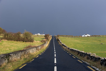 Road through Ireland