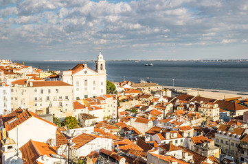 Alfama in Lisbon, Portugal