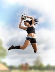 Fußball Girl