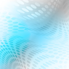 Abstract dots background blue