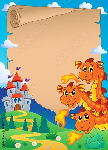 Poster Pony Fairy tale theme parchment 6