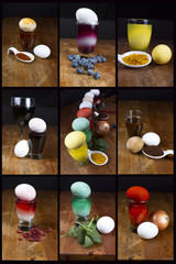 Natural Easter Egg Dye Sources