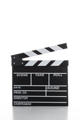 映画撮影用のカチンコ