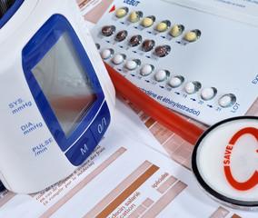 effets secondaires de la pilule contraceptive,examen