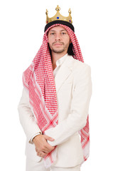 Arab man in diversity concept