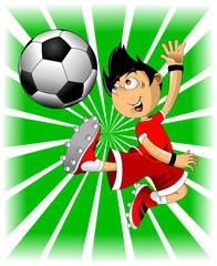 salute soccer