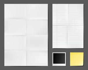 Supports papier vectoriels 1
