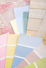 pastel color design selection for interior