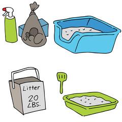 Cat Litter Objects