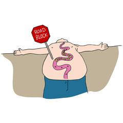 Blocked Digestive Track
