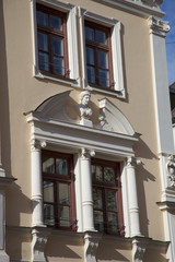 München - historisierende Fasade   im Lehel