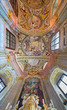 Ceiling of chapel in Saint Anton palace - Slovakia