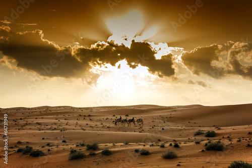 Plexiglas Dubai Desert Wahiba Oman