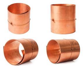 Rolls of copper sheet