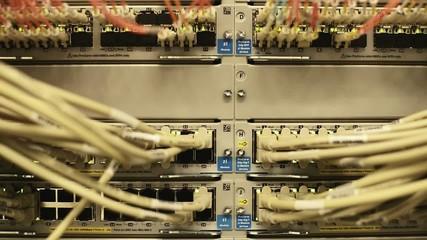Network Switch Patch Panel LWL