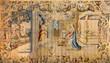 Bergamo - Gobelin of Annunciation in cathedral