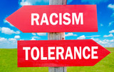 Racism and tolerance poster