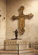 Verona - cross and baptistery in basilica San Zeno