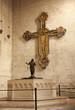 Verona - cross and baptistery in basilica San Zeno