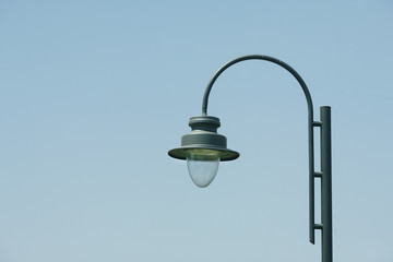 Old fashioned street lamp