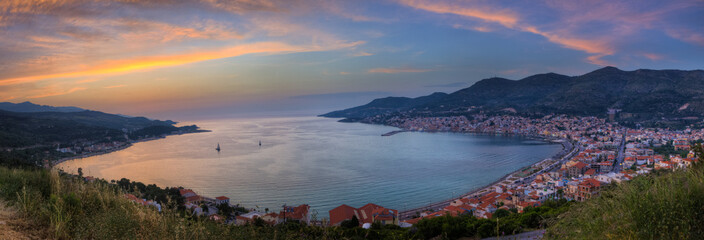 Panoramic Sunset View - Samos, Greece